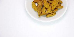 rizomas de cúrcuma